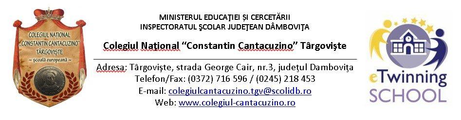 Colegiul National Constantin Cantacuzino
